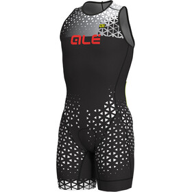 Alé Cycling Rush Olympic Tri Sleeveless Unitard Short Men black-white
